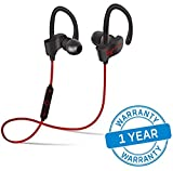 #6: One Plus 5T compatible Bluetooth head set with mic by Azacus | Comes With Stereo Sound & Good Quality | Compatible with both IOS and Android devices | long lasting battery | with Volume and Play,pause control buttons | One Year Replacement warranty |
