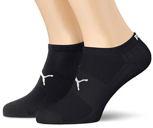 Puma Herren Socken PERFORMANCE TRAIN LIGHT SNEAKER 2P, black/white, 43-46, 271003001