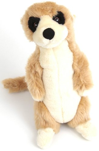 Animate-Soft-Plush-Meerkat-Dog-Toy-11-inch
