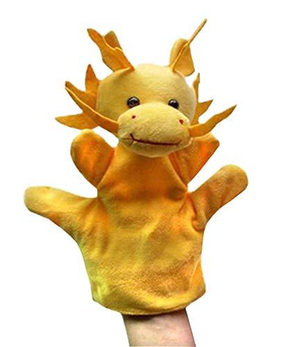 Black Temptation [Dragon] 3 Stück Schöne Handpuppe Kinder Lustige Spielzeug Zeigen Requisiten -