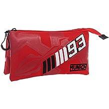 Munich Marc Marquez 93 Neceser de Viaje, 1.32 Litros, Color Rojo