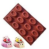 JasCherry Silikon Backform für Schokolade, Cupcakes, Kuchen, Muffinform für Muffins, Pudding, Eiswürfel und Gelee - Donuts #2