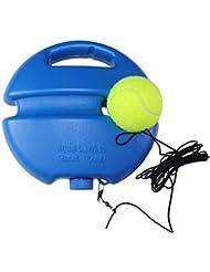 FANGCAN nuevo estilo pelota de tenis entrenamiento para entrenamiento de solo (Azul)