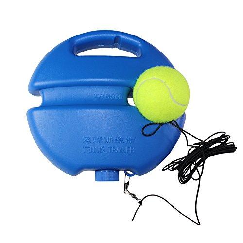 FANGCAN New Style palline da Tennis da allenamento Trainer per Solo, colore: blu
