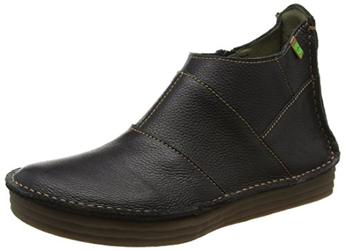 El Naturalista Nf85 Soft Grain Rice Field, Stivali a Gamba Larga Donna, Nero (Black N01), 40 EU