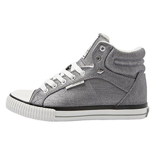 British Knights Damen Dee Sneaker Silberfarben