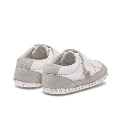 Little Blue Lamb , {Chaussures premiers pas pour bébé (garçon) blanc weiß 6-12 mois weiß