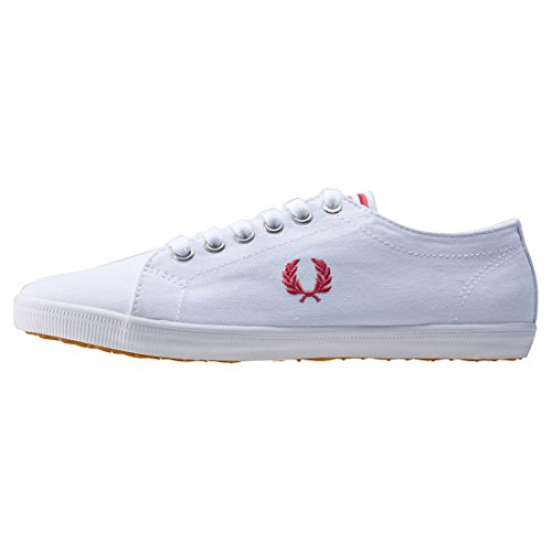 Fred Perry Kingston Twill White Rose Blanc