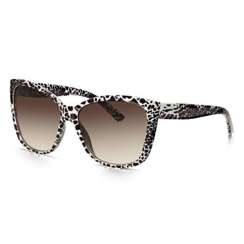 Sunglass Junkie uebergrosse Animal Print Damen Glamour Sonnenbrille (Print-damen-sonnenbrillen)