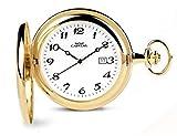 Orologio da Tasca Capital, Doppia Cassa, Acciaio, Laminato, Quarzo TX165*LO