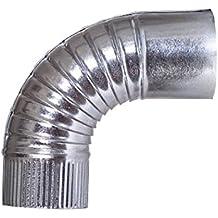 Theca 7500303 Codo Galvanizado, 100 mm