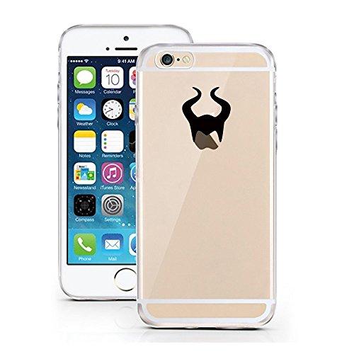 iPhone 6 6S Hülle von licaso® für das Apple iPhone 6 6S aus TPU Silikon Böse Fee Maleficent Märchen Muster ultra-dünn schützt Dein iPhone 6S & ist stylisch Schutzhülle Bumper (Disney Böse)