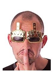 Idea Regalo - Occhiali dito medio per adulto