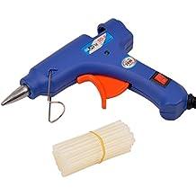 CkeyiN ® Pistola de Pegar con 25 Unidades Palillos del Pegamento del Derretimiento (pistola de pegamento de alta temperatura de fusión Kit)