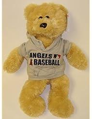 Los Angeles Angels MLB Large 14'' Plush Bear