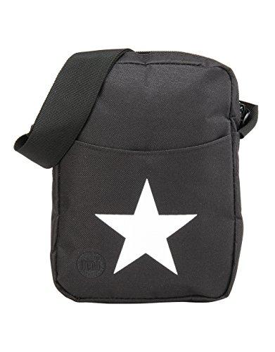 Mi-Pac Flight Bag Bolso Bandolera, 21 cm, 17 Litros, Star Black