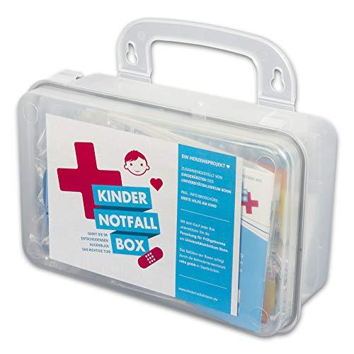 Kindernotfallbox, 17-teilig, zur ersten Hilfe am Kind