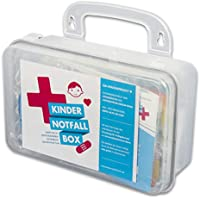 Kindernotfallbox, 17-teilig, zur ersten Hilfe am Kind preisvergleich bei billige-tabletten.eu
