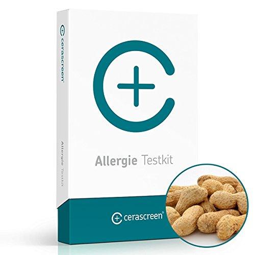 cerascreen® Nussallergie-Test Kit – Allergien schnell & einfach per Selbsttest von Zuhause bestimmen | Zertifiziertes Labor | Detaillierter Ergebnisbericht