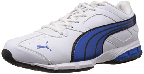 Puma Men's Tazon 5 Ind. White, Medieval Blue and Black Running Shoes - 11 UK /India(46EU)  available at amazon for Rs.2849