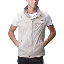 Columbia Silver Ridge Vest - Chaleco para hombre, color beige, talla XL