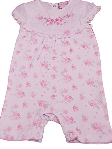 Chloe Louise Baby Mädchen (0-24 Monate) Plissee Kleid rosa Rose Gr. 3-6 Monate, Rose