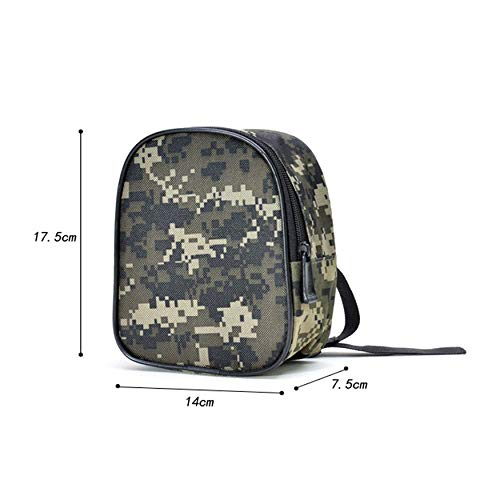 Yaoaoden Lightweight Waterproof Fishing Reel Bag Protective Cover Trolling Spinning Fishing Reel Protective Case Pouch Bag -