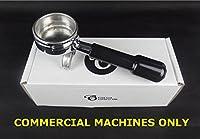 Replacement Portafilter for LA PAVONI 58mm COMMERCIAL Espresso Machines, 2 Spout, 14g Basket - by EDESIA ESPRESS