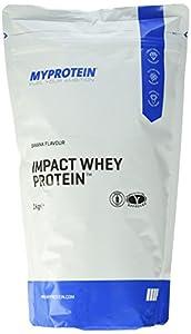 Myprotein Impact Whey Protein Banana, 1er Pack (1 x 1 kg)