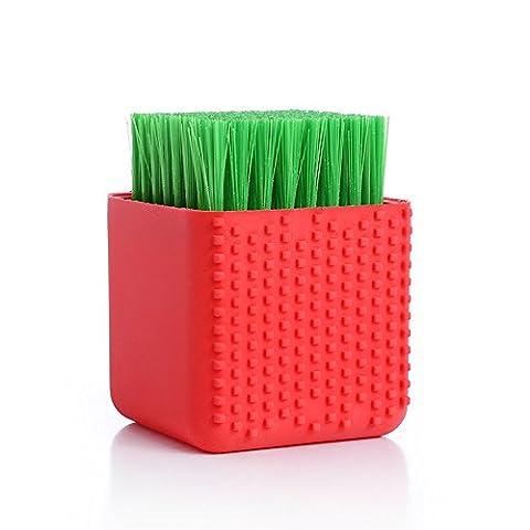 YOUZUO Brosse en silicone Soft Hair Clean Brush Chaussures de lavage Brosse Sous-vêtements Clean Laundry Underwear Brush Double Brush