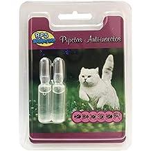 BPS Pipetas Repelentes para Perros Gatos Mascotas Antiparasitos Material Naturales (para Gato) BPS-