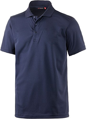 Maier Sports Herren Polo 1/2 Arm T-shirt, aviator, Gr. L