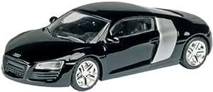 Schuco - SCHU25713 - Véhicule Miniature - Audi R8 - Noire - Echelle 1 / 87