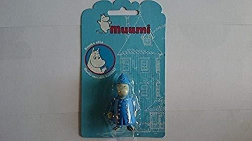 Moomin Valley-Police Chief-poliisimestari-Animation-Kunststoff-Figur-Spielzeug von Moomin Zeichen TM (Finnland)