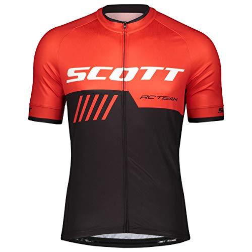 Scott RC Team 10 Fahrrad Trikot kurz schwarz/rot 2019: Größe: M (46/48)