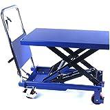 Hydraulischer, fahrbarer Hubtisch - Plattformwagen - Hubstapler - 300 kg