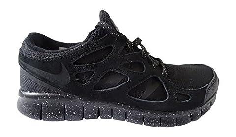 Nike Herren Free Run 2 Prm Laufschuhe, Schwarz / Grau (Schwarz / Schwarz-Mtlc Zinn), 40 EU