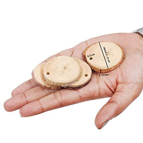 Zoom IMG-1 kurtzy dischetti legno 50 pezzi