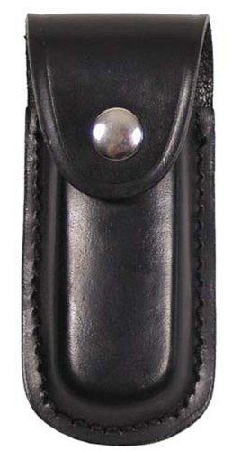 etui canif, cuir, longueur: 11 cm, Couleur:schwarz/black