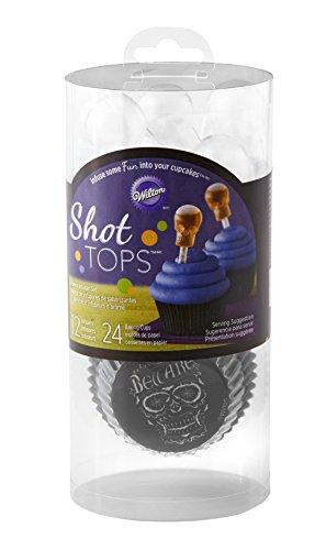 ps Geschmack Teesieb Cupcake-Set, mehrfarbig (Shot-rezepte Für Halloween)