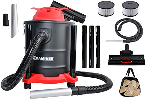Kaminer Aschesauger 20L 1600W 3in1 HEPA Filter Staubsauger Edelstahl Grill 8790