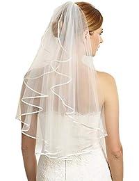 neueste trends erstklassiges echtes suche nach authentisch Amazon.de: Brautschleier - Hochzeitsmode: Bekleidung