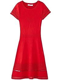 Promod Kleid mit Lochstrickmuster
