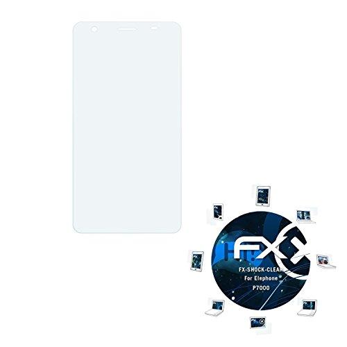 atFolix Schutzfolie kompatibel mit Elephone P7000 Panzerfolie, ultraklare & stoßdämpfende FX Folie (3X)