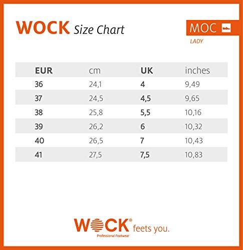 Wock Moc Di Unisex Colore Giallo Scarpe Signora rCTg5n7r