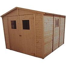 cadema jardn casa de madera m x m