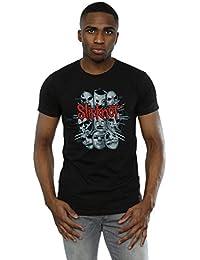 Slipknot Men's Band Masks T-Shirt