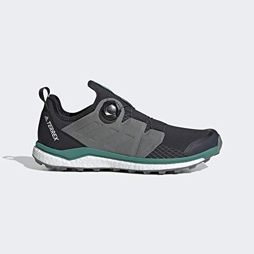adidas Herren Terrex Agravic Boa Kletterschuhe, Mehrfarbig (Carbon/Gritre/Veract 000), 44 2/3 EU -