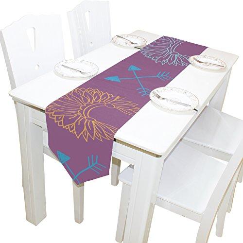 Dragon Sword Chemin de Table pour Le dîner décoration de fête de Mariage 13 x 70 Pouces Multicolor