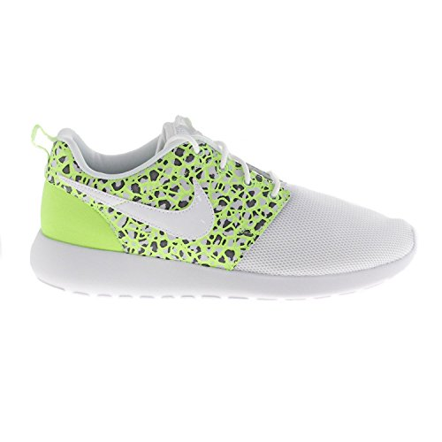 Nike Wmns Roshe One Prm, Chaussures de Sport Femme Blanc Cassé - Blanco (White / White-Ghost Green)